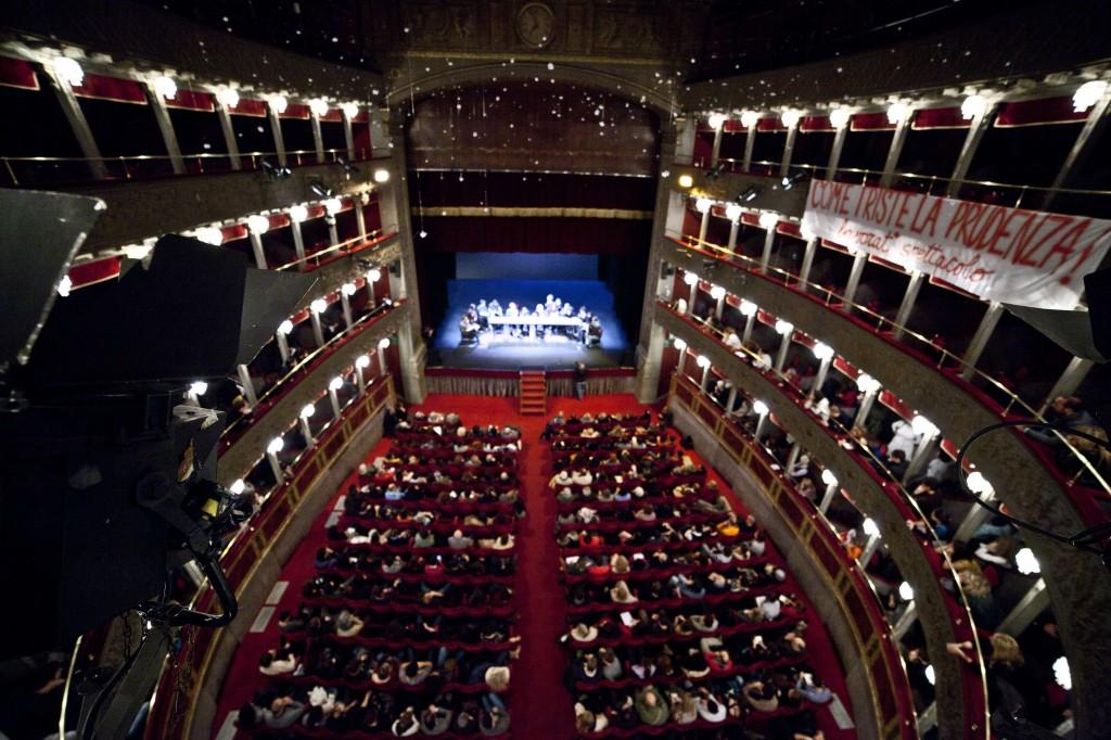 Teatro Valle. T.Tomasulo nuotr.