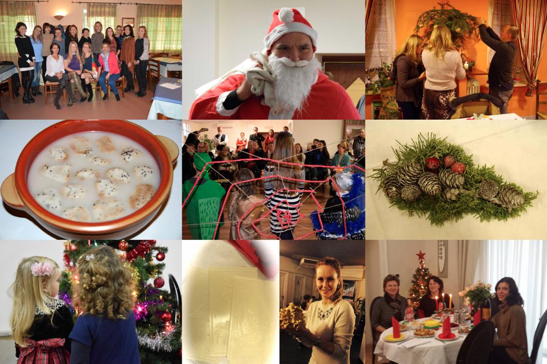 Italijos lietuvių Kalėdos 2014 m. ITLIETUVIAI.IT fotomontažas