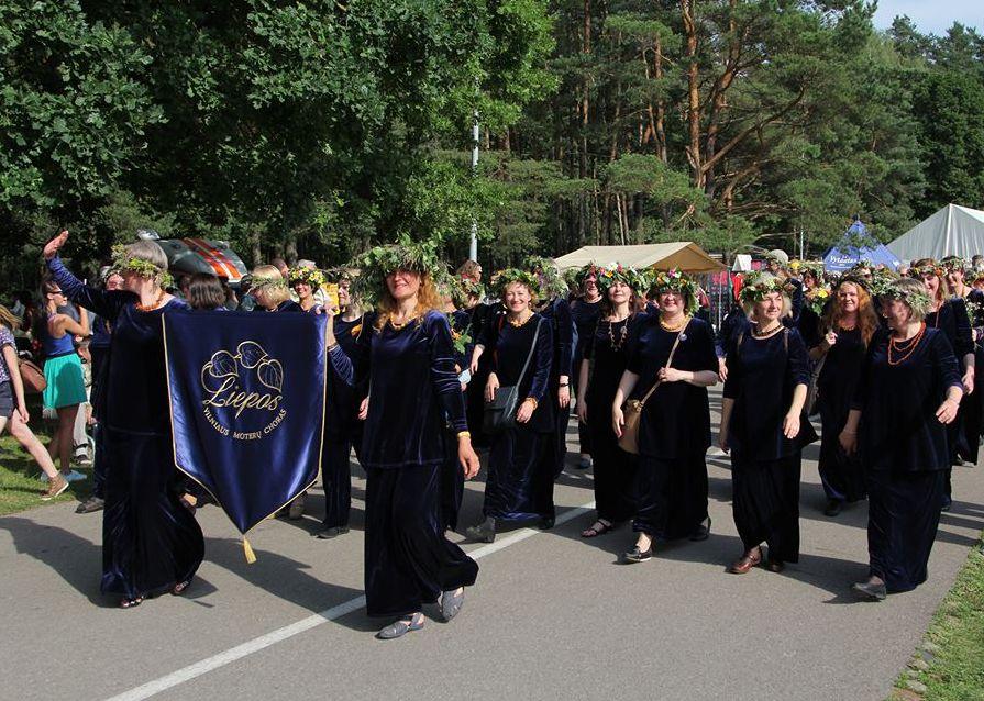 Vilniaus moterų choras Liepos. Facebook nuotr .