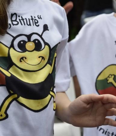 """Romos lituanistinė mokyklėlė""""Bitutė"""" švenčia 10 metų jubiliejų. A.Buckutės nuotr."""