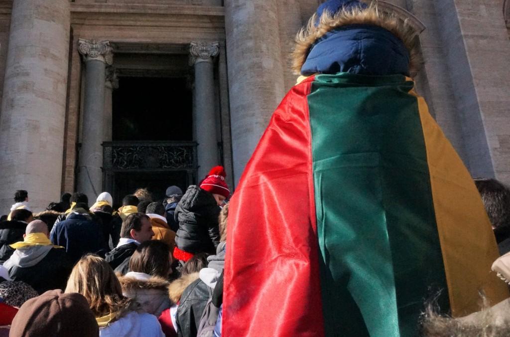 Žengimas pro Šventąsias duris Vatikane 2016 m. Ž.Morkūnaitės nuotr.