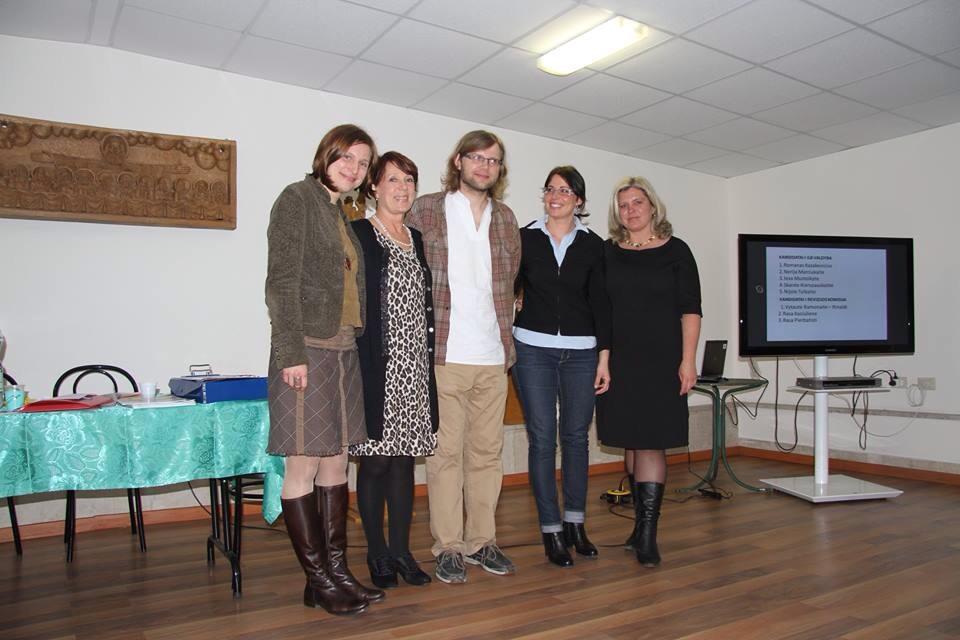 2014-2016 m. Italijos lietuvių bendruomenės valdyba, Romos nariai