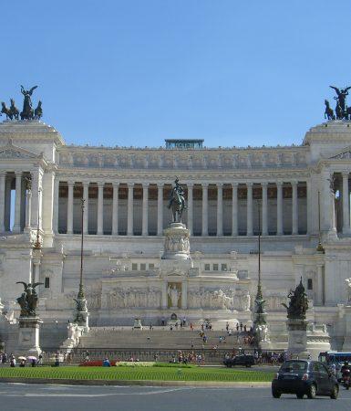 Venecijos aikštė Romoje. A.Buckutės nuotr.