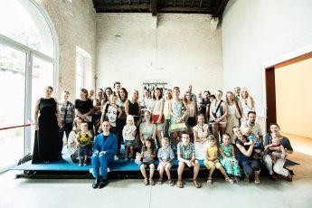 Milano lietuviai susitiko su menininku J.Urbonu. Organizatorių nuotr.