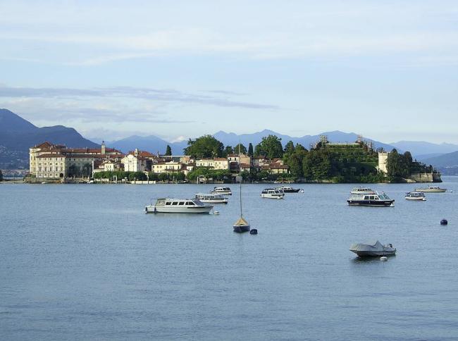 Maggiore ežeras Italijoje ir jo salos. E.Mažalskaitės Parma nuotr.