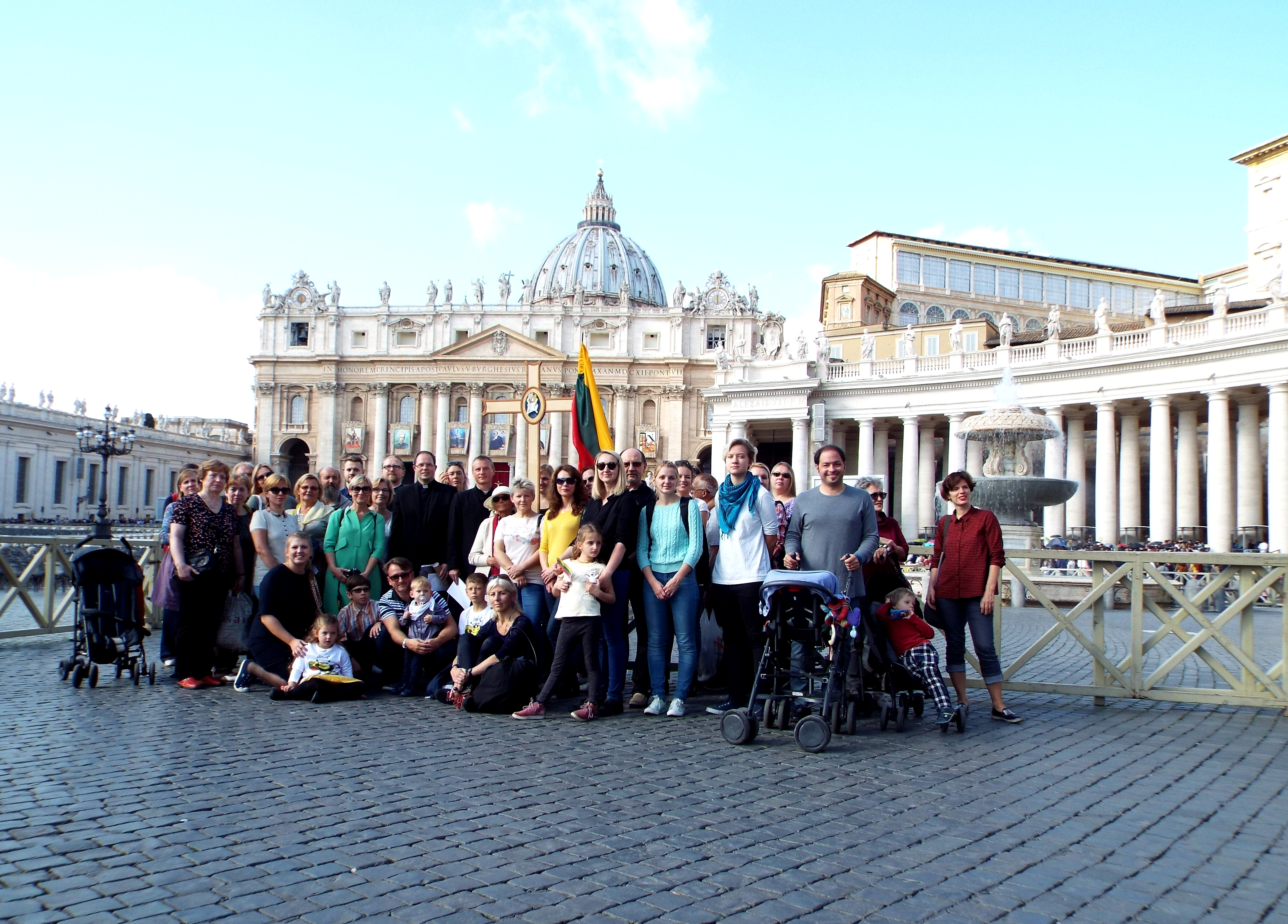 Vatikanas, piligriminis žygis