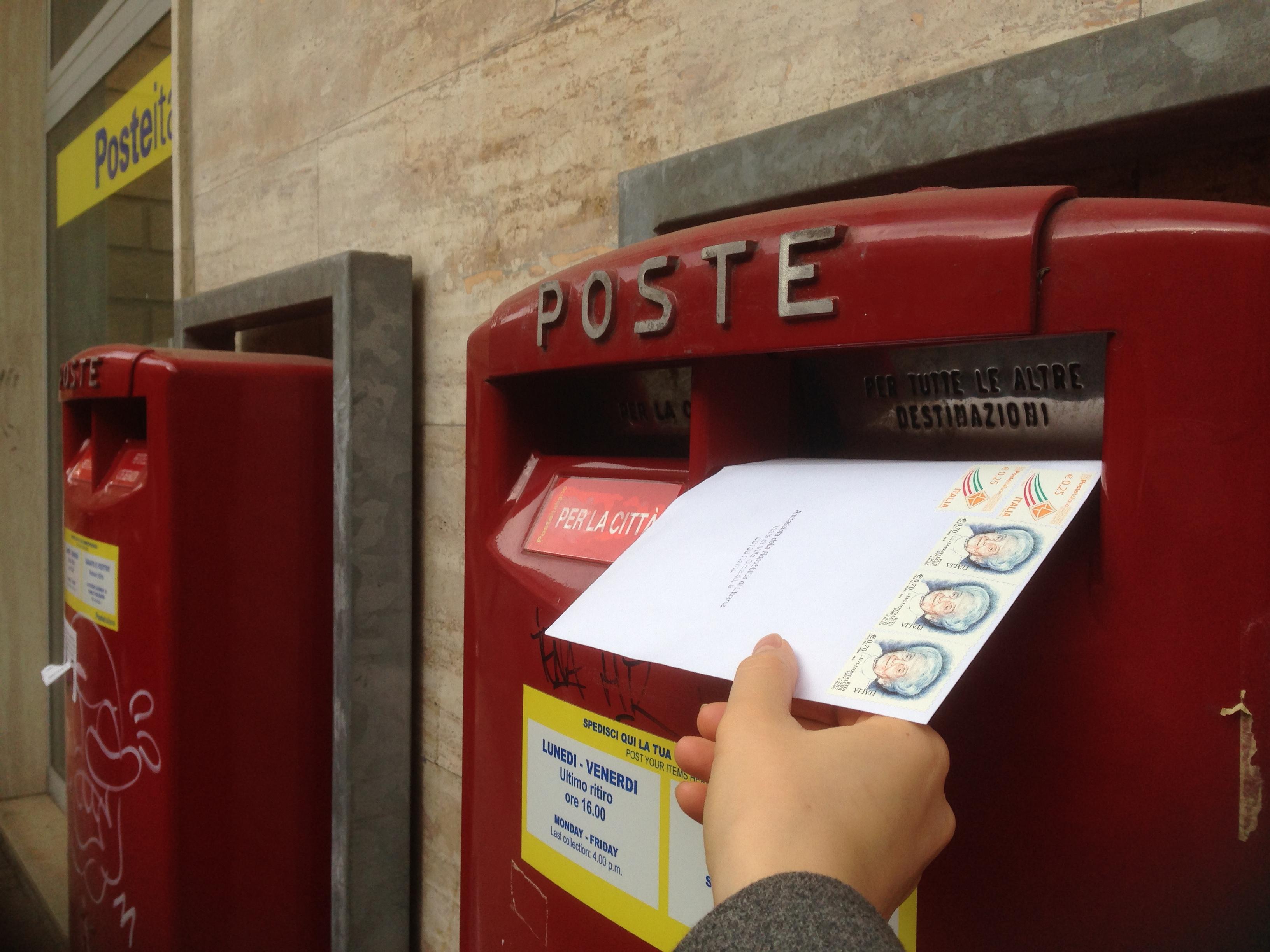 Lietuviai balsuoja Italijoje