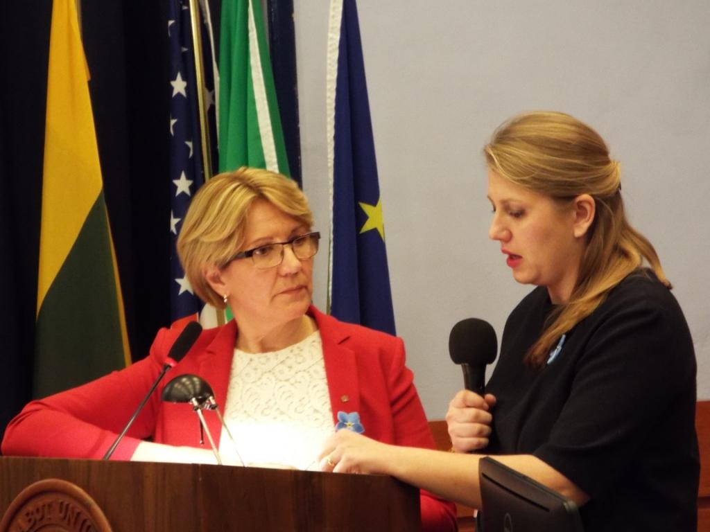 Eglė Bučelytė ir Elzė di Meglio. A. Nenėno nuotr.