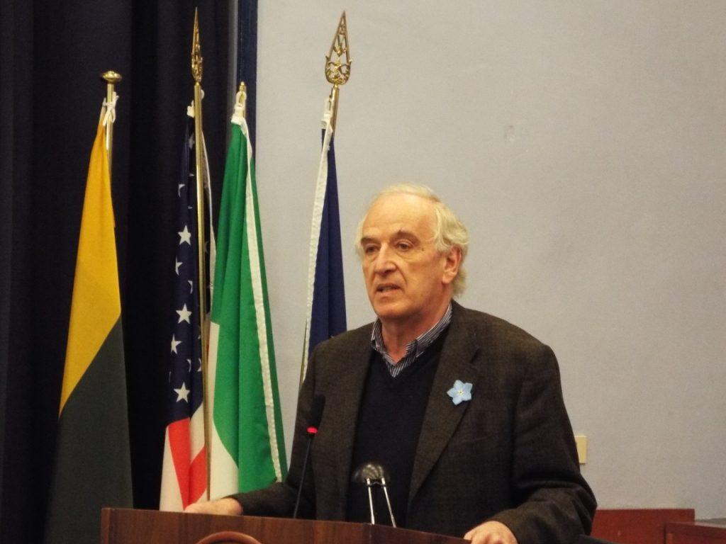 Federigo Argentieri. A. Nenėno nuotr.