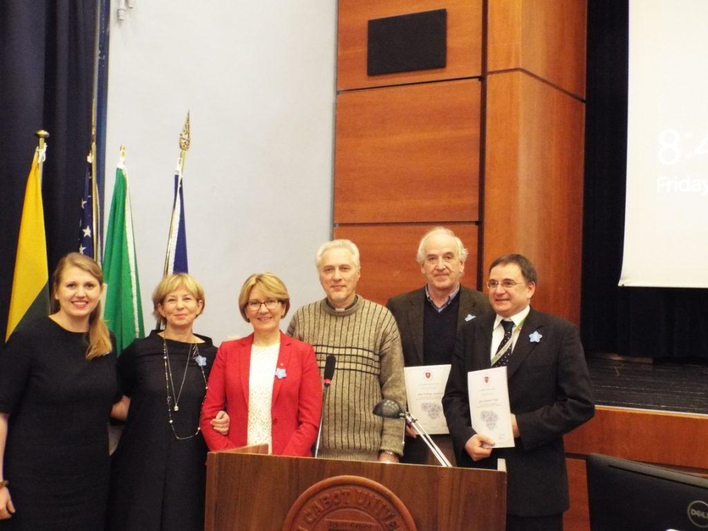 Konferencijos pranešėjai. A. Nenėno nuotr.