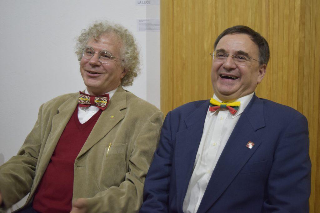 Claudio Barna ir Alessandro Vitale. A. Buckutės nuotr.