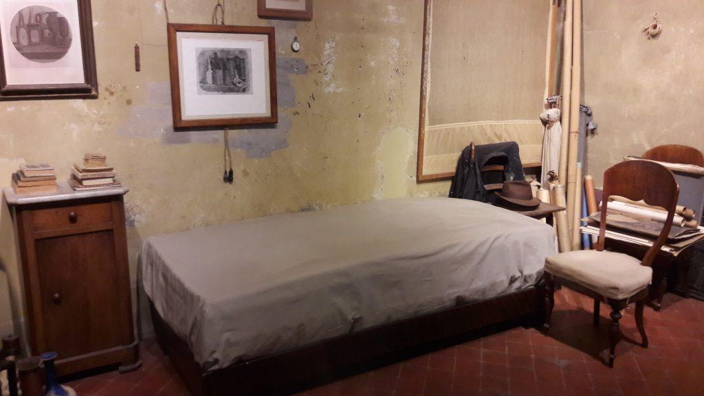 Bolonijoje gimusio ir kūrusio dailininko Giorgio Morandi namų studija. G. Jasinsko nuotr.