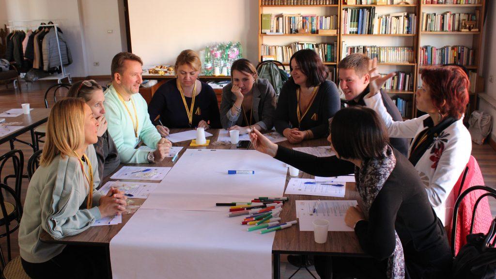Komandinio bendradarbiavimo mokymai Romoje. G. Zubrickytės nuotr.