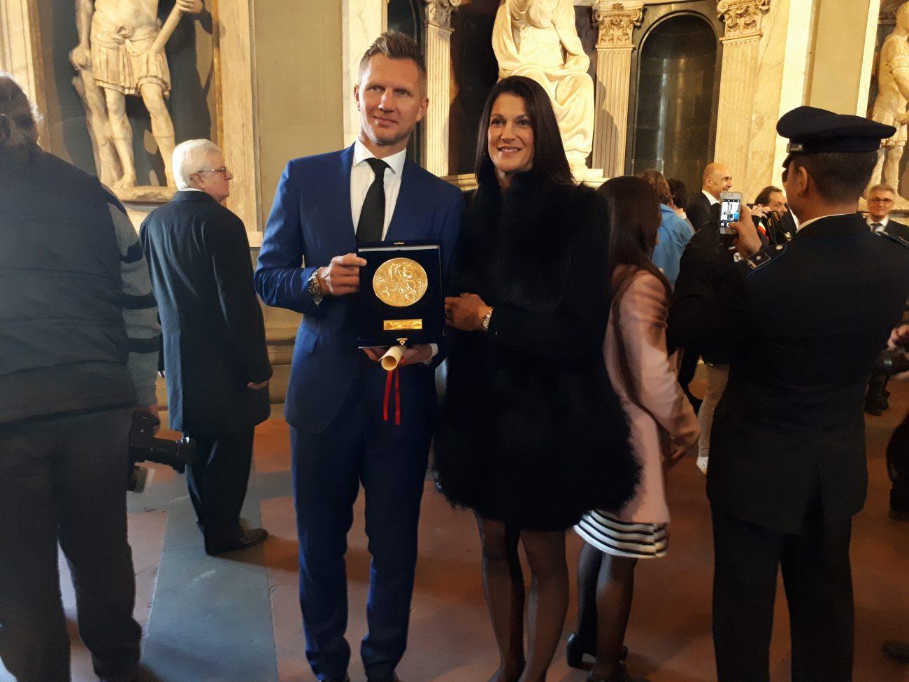 Rimantas ir Tanja Kaukėnai. N. Budrytės nuotr.