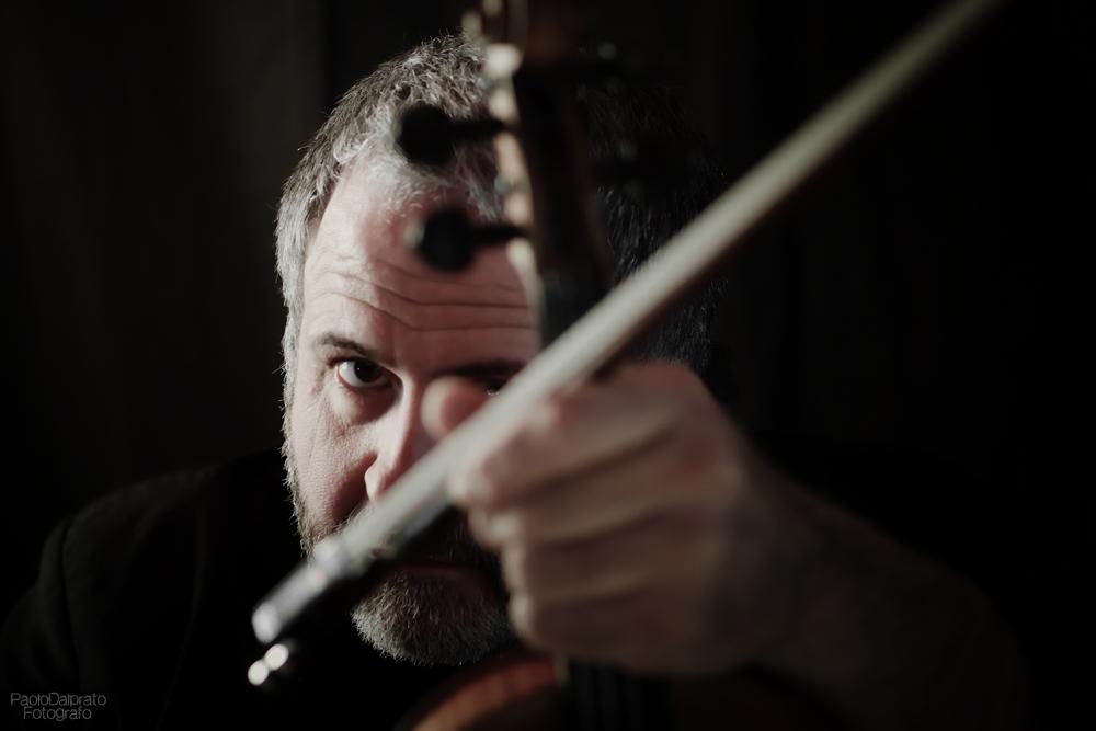 Italų smuiko virtuozas  Domenico Nordio. P. Dalprato nuotr.