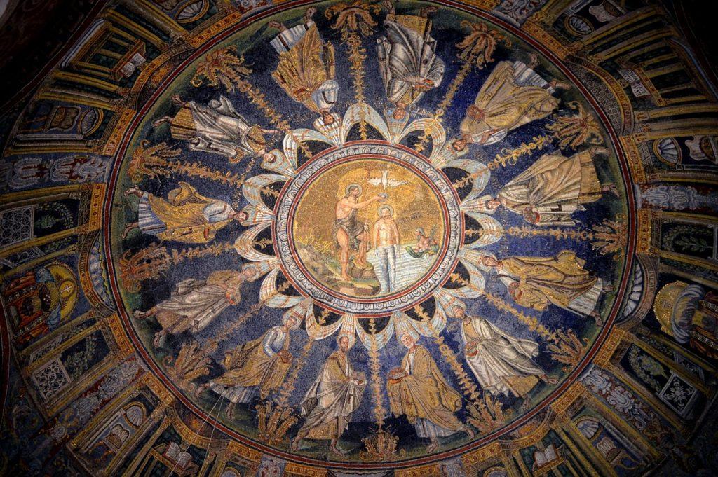Neono krikštyklos (baptisterijos) mozaikos. Pixabay nuotr.
