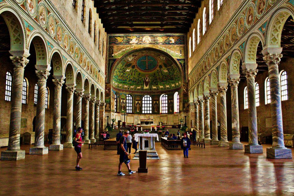 Šv. Apolinaro bazilika Klasėje. Pixabay nuotr.