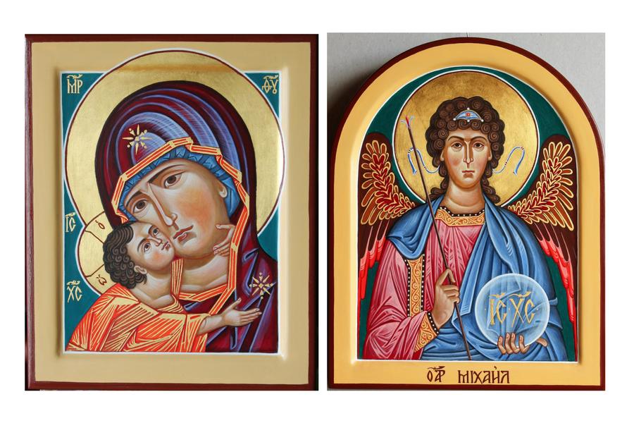 B. Jokubauskio ikonos.