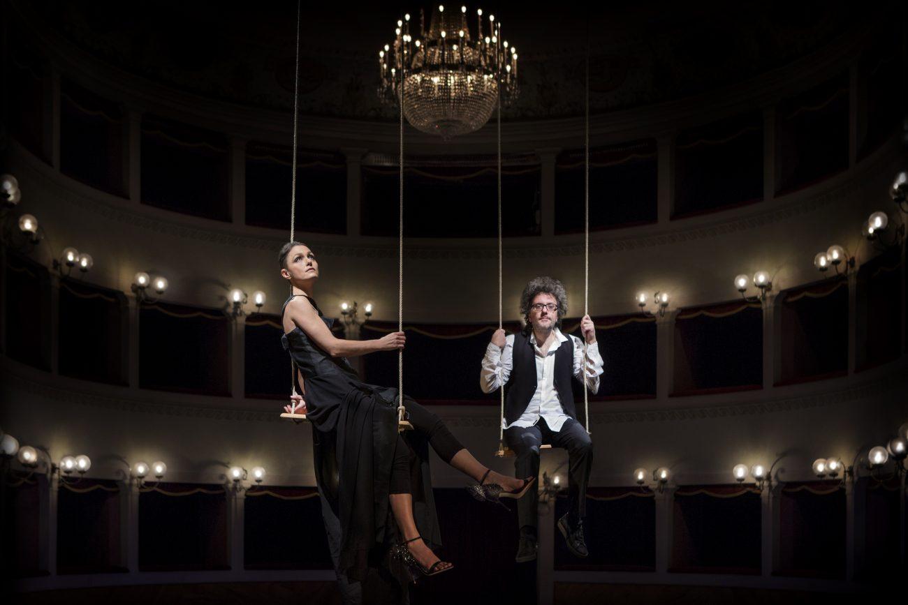"""Italų duetas """"Musica nuda"""". A. Trani nuotr."""