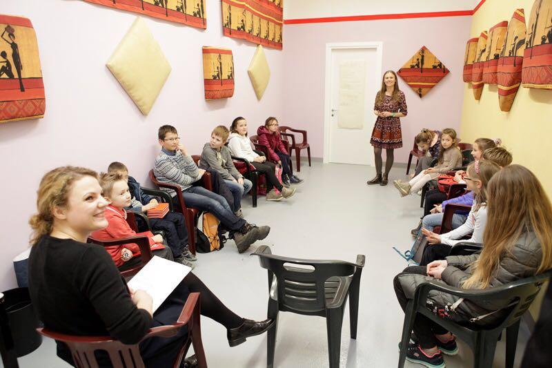 """Milano vaikų klubas-mokyklėlė """"Pabiručiai"""". Bendruomenės archyvo nuotr."""