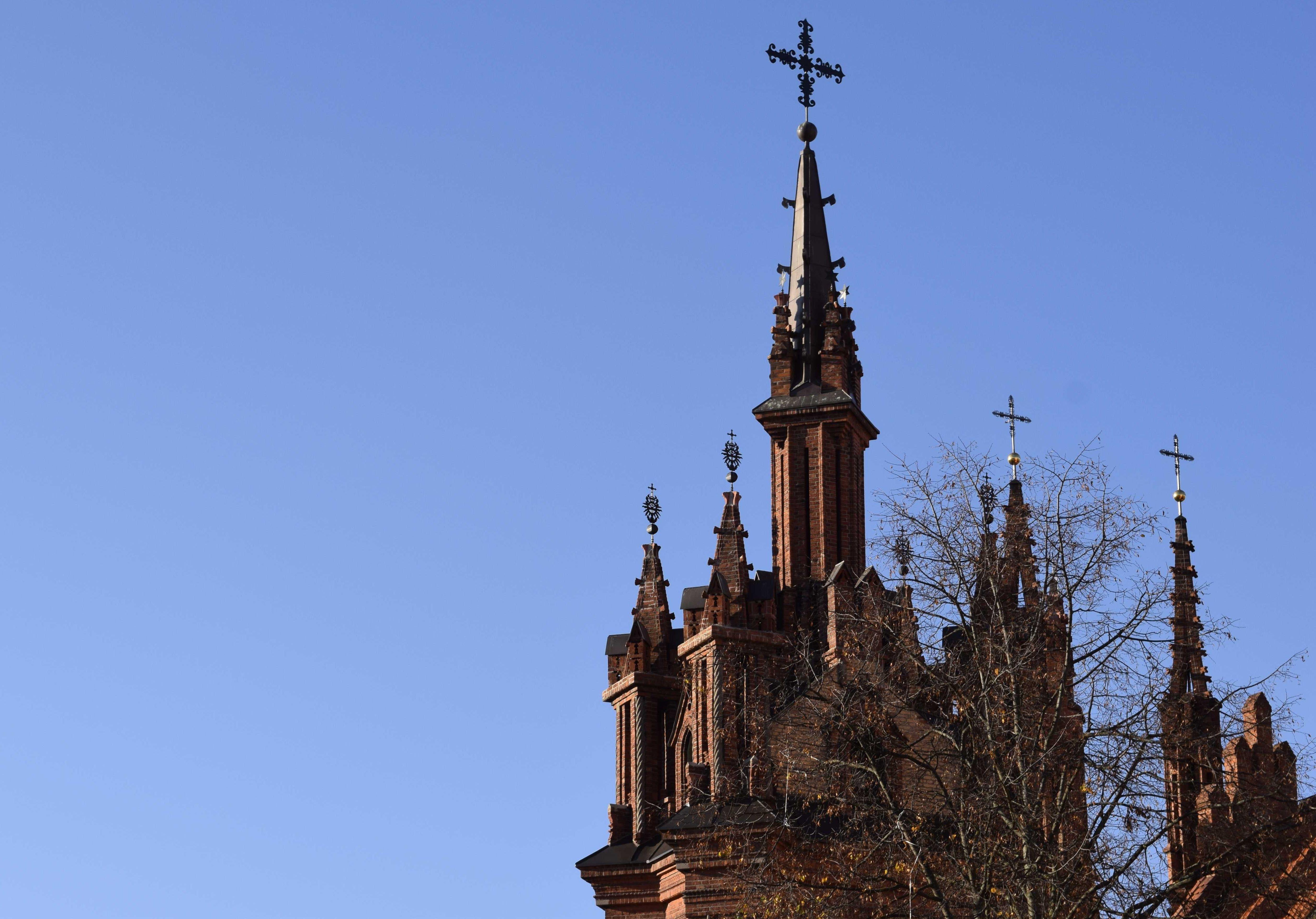 Šv. Onos bažnyčios bokštai. A.Buckutės nuotr.