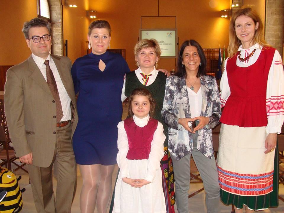A.Sorace ir asociacijos Lietuva-Sicilija nariai. Organizatorių nuotr.