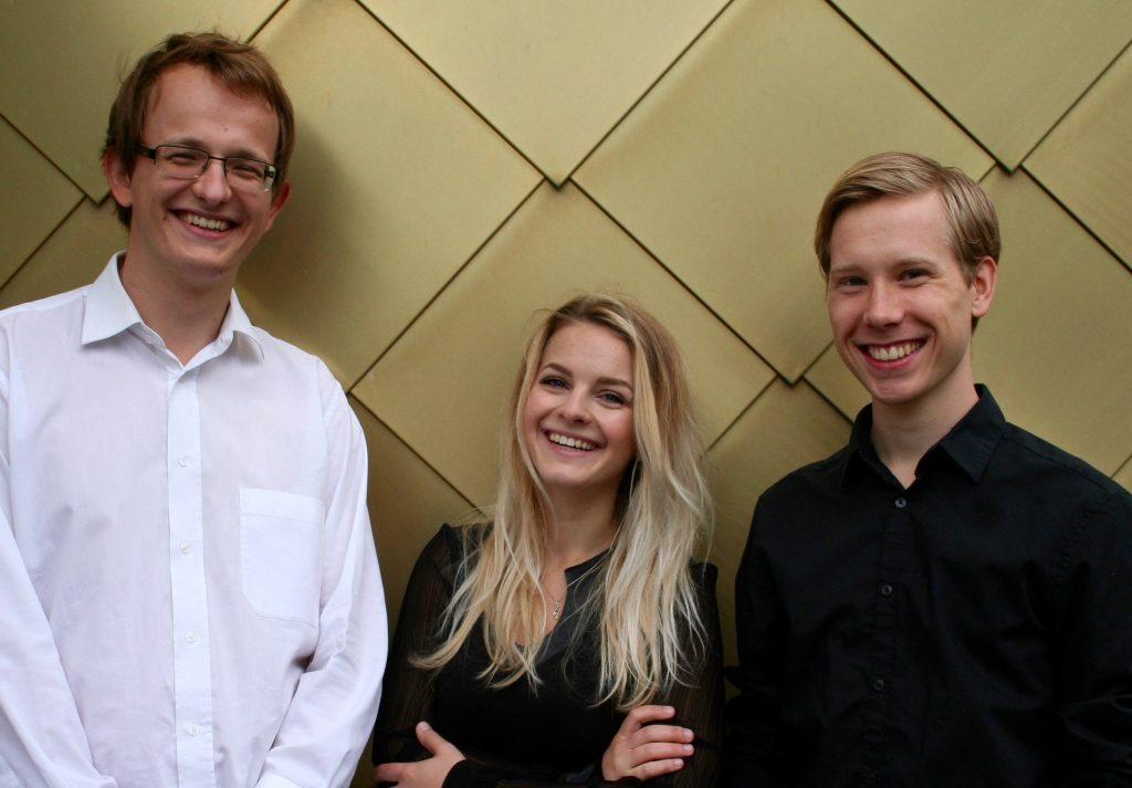 Mari-Liis Urb, Kristian Plink, Joonatan Jürgenson. Organizatorių nuotr.