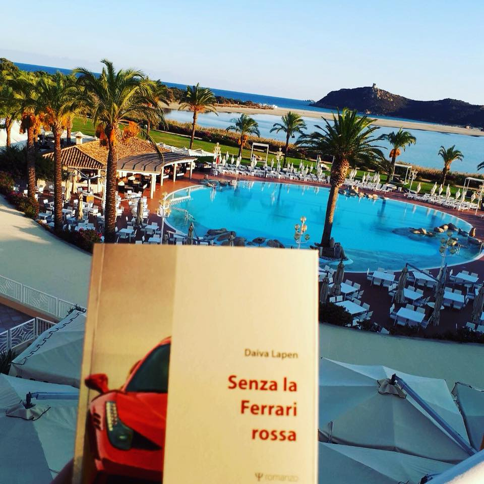 "D. Lapėnaitės knyga ""Senza la Ferrari rossa"". Asmeninio archyvo nuotr."