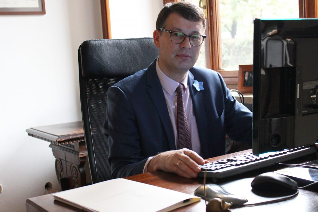 Ričardas Šlepavičius. G. Zubrickytės nuotr.